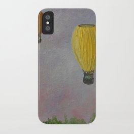 Hot Air Balloon Adventure iPhone Case
