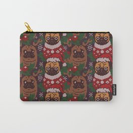 Christmas Party With The Pug Carry-All Pouch