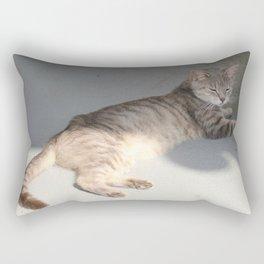 Cat Image 2 Rectangular Pillow