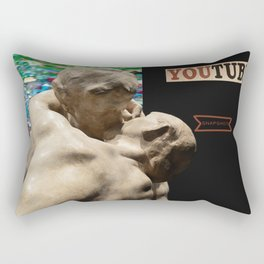 youtube snapshot Rectangular Pillow