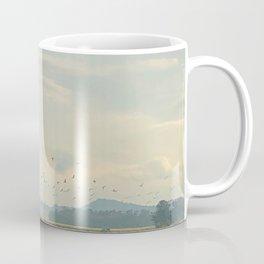 Birds and Mountains Coffee Mug