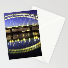 Sunset Across the Mersey Stationery Cards