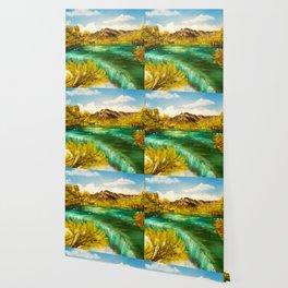 Emerald Falls Wallpaper
