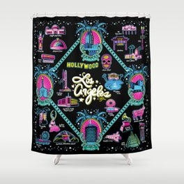Welcome to Los Angeles! Shower Curtain