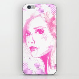 Pink Lady iPhone Skin