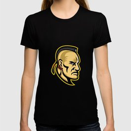 Native American Mohawk Mascot T-shirt