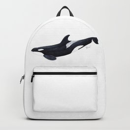 Orca killer whale Backpack
