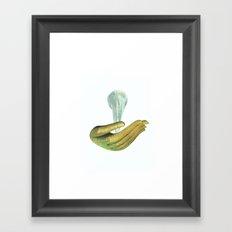 unbearable lightness #1 Framed Art Print