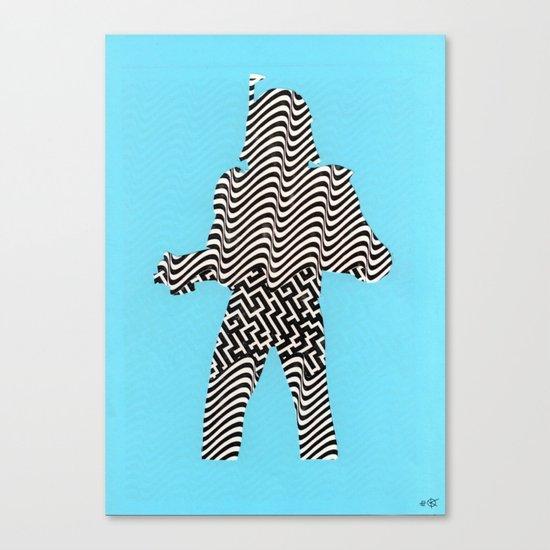 Cut StarWars - Streifenhörnchen Canvas Print