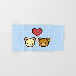 Bear Love Hand & Bath Towel