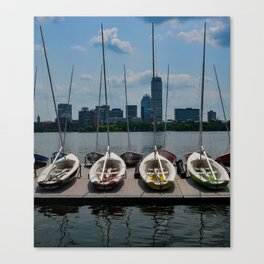 Four Sail Canvas Print