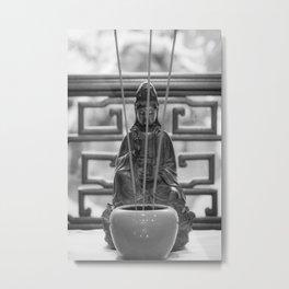 Incense Metal Print