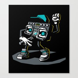 Beatbox Boombox2 Canvas Print