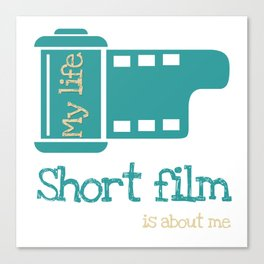 short film Canvas Print