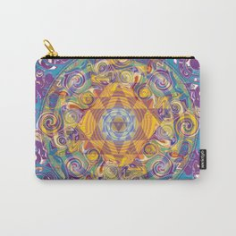 Actualize Sri yantra Carry-All Pouch