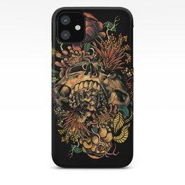 Skull Flora iPhone Case