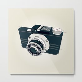 Argus Camera Metal Print