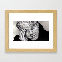 The Tortured Thinker  Framed Art Print