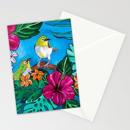 Tropical Tweets Stationery Cards