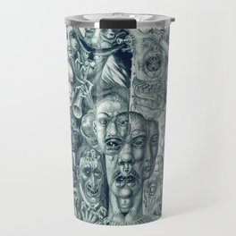 Hell by Eduard Wiiralt, 1930 Travel Mug