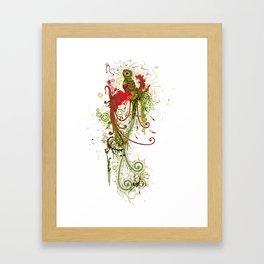 RED QUETZAL Framed Art Print