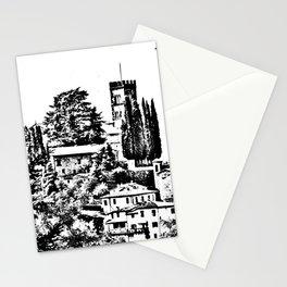 Duomo of Barga Stationery Cards