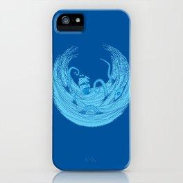Kraken's Whirlpool II iPhone Case