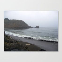 California's Coastal Landscaping Canvas Print