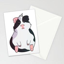 Otis the guinea pig Stationery Cards