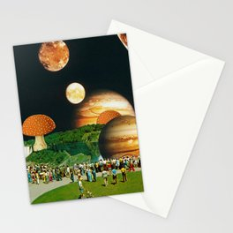 Fungi Waterfalls Stationery Cards