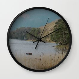 The Wild Atlantic Away-The Beautiful Lakes of Killarney Wall Clock