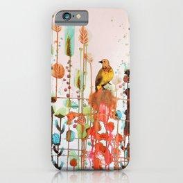 demander la joie iPhone Case