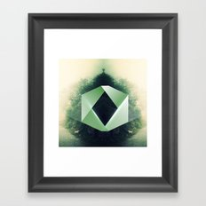 GreenD Framed Art Print