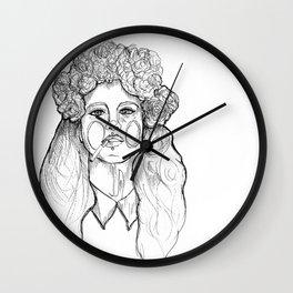 .raise. Wall Clock