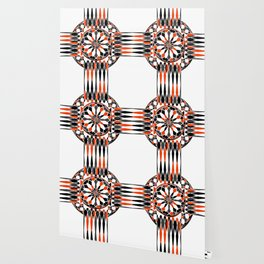 Geometric celtic cross Wallpaper