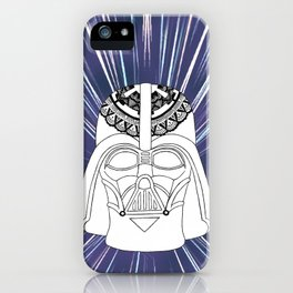Darth Vader Mandala iPhone Case