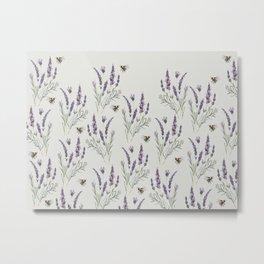 Field of Lavender Metal Print