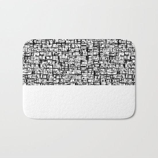 Abstract Mosaic  Bath Mat
