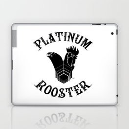 PLATINUM ROOSTER ~ Our Logo! Put it on your wall!  Laptop & iPad Skin