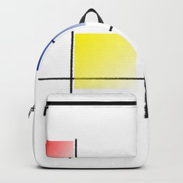 Squares graphic design Backpack