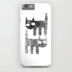 Three legged cats iPhone 6s Slim Case