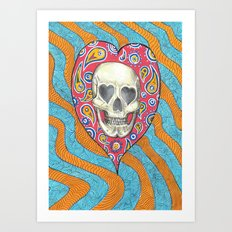 Skulladelia Art Print