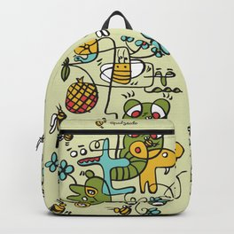 The Buzzz Doodle Monster World Backpack