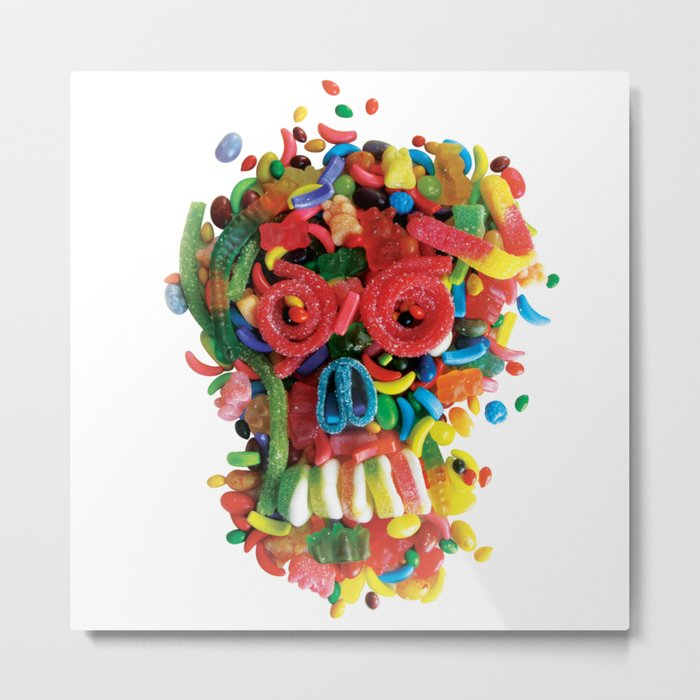 Death and Tooth Decay Metal Print