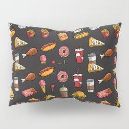Junk Food Pillow Sham