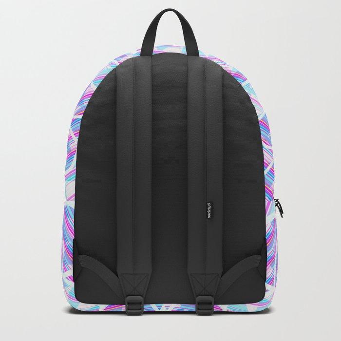 Blue trance Backpack
