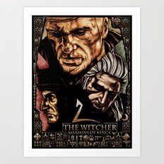 The Witcher 2 Art Print