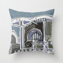 serge-pichii-brunnen-0001 Throw Pillow