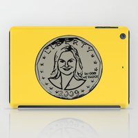 parks and recreation iPad Cases featuring Leslie Knope  |  Susan B. Anthony Coin  |  Parks and Recreation by Silvio Ledbetter