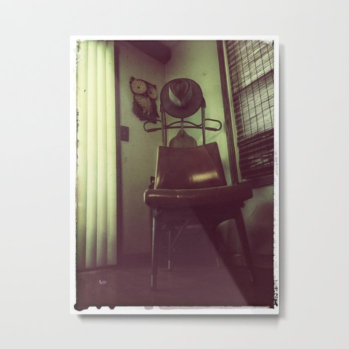 Best Seat In The House Metal Print